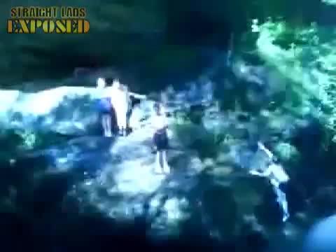 jumping in glen buff