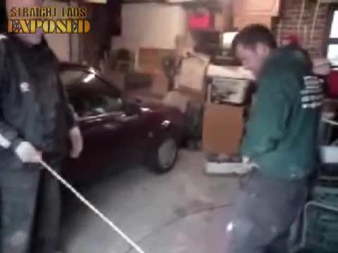 Kilo getting caned