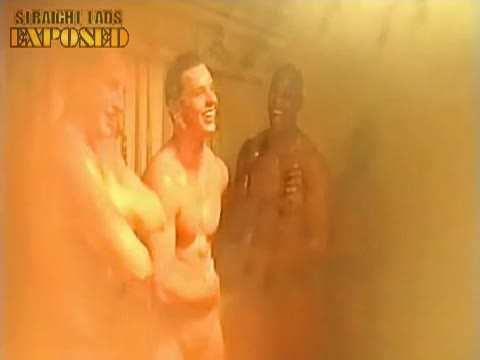 london broncos' naked shower