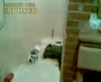 wolverin en la ducha