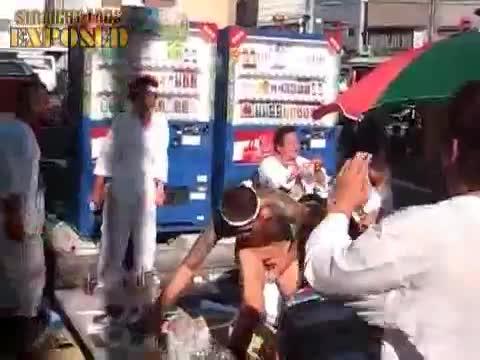 Yakuza Dancing Naked