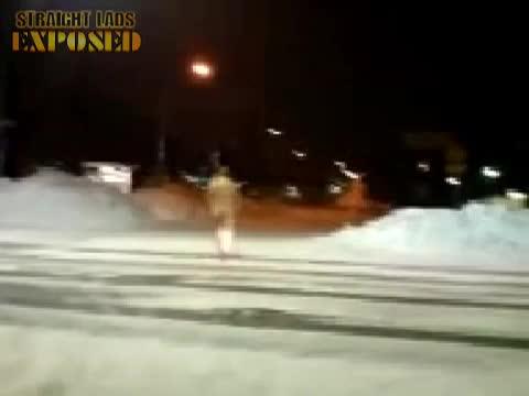 naken i stan
