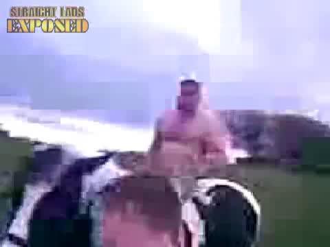Ross Blair NAKED HORSE RIDING POSE HAHA