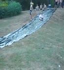 naked slip and slide