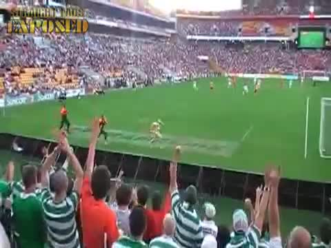 Brisbane Roar FC vs Celtic FC Streaker