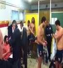 SOA Perpignan locker room