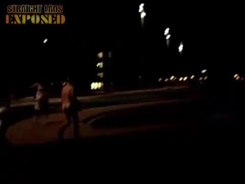 Carnage Naked fountain run