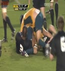 kiwi rugby lad's ass exposed
