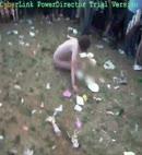 Naked Greased Up Deaf Guy Leeds Festival