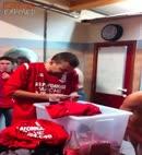 football lads locker room