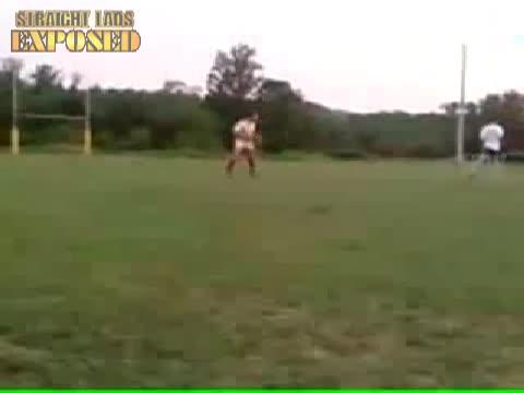 football streaker