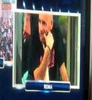 Milan player caught naked