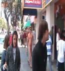 Naked guy walking in pier 39 2