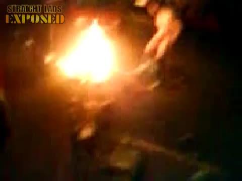 Holylands riots belfast st paddys day streaker