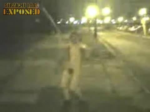Javelin man street