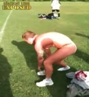 rugby lad Carl's naked streak