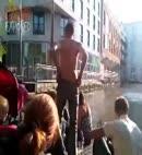 naked dock swim