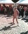 naked dance street