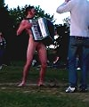 naked organist at the park