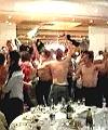 naked rugby celebration