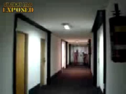 Naked hotel run