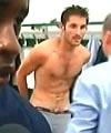 David Jemmali caught naked