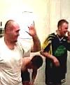 Rugby lads locker room