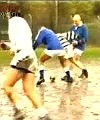 rugby shower