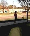 Inkster man walking naked