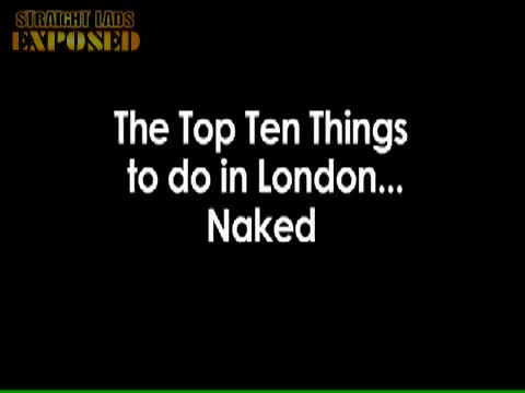 Ten things for nudes to do in London