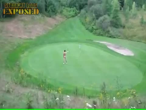 The Naked Golfer