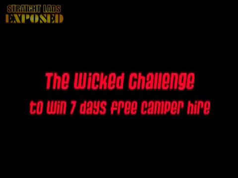 The Wicked Campers Naked Challenge in Brisbane