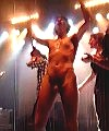 naked on stage