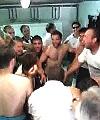 football lads' locker room