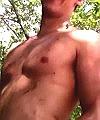latino lads swim nude