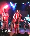 naked band at festival