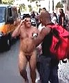 naked man in street
