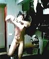 dancing in locker room
