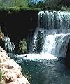 Jumping Fossil Creek Falls Naked