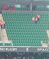 Streaker at Twickenham 7s 2012