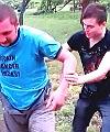 garden spanking