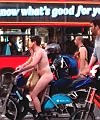 London Naked Bike Ride 2012