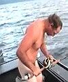 Naked Halibut Fishing