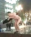 naked fountain lad