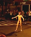 Naked Guy In the street 1