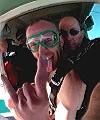 Matt's Naked Skydive