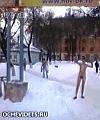 Naked guys went shopping