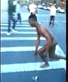 Black Guy Walks Naked In NYC