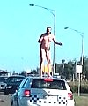 Crazy naked man from werribee