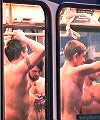 naked train